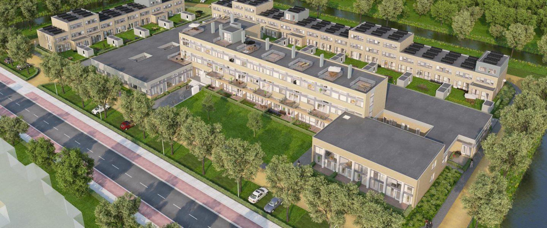 Er is veel aandacht besteed aan de uitstraling en een passend woningbouwprogramma