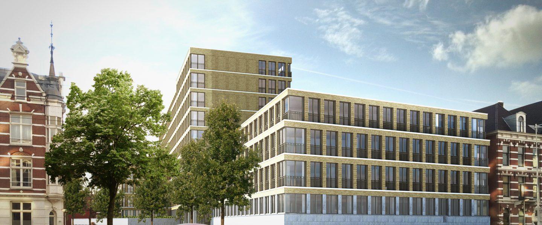 Wonen op deze prachtlocatie wordt mogelijk door de transformatie van een voormalig kantoorgebouw.